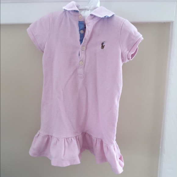 Ralph Lauren Other - Ralph Lauren Pink Polo Dress 2T
